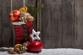Der Nikolaus kam und brachte sogar Geschenke