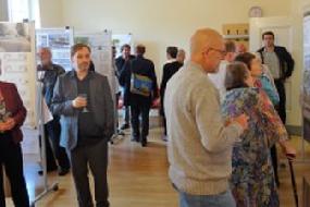 Ausstellungseröffnung zum Ideen- und Realisierungswettbewerb im Wohngebiet