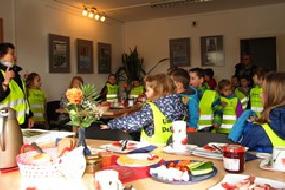 Die Umweltdetektive zu Gast beim Themenfrühstück