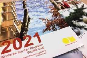 Fotokalender des Quartiersmanagements für das Jahr 2021